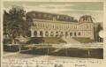 OÖ: Gruß aus Ischl Kurhaus 1901 von Ischl nach Wien gelaufen