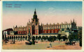Polen: Gruß aus Krakau 1909 ( Tuchhalle ) K.u.K. Resevespital Nr. 8 Feldpostamt