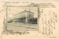 Russland: Gruß aus Ottynia ( Westukraine ) 1903 Bahnhof Bahnstation