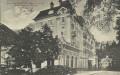 Salzburg: Gruß aus Badgastein 1084 m. Grand Hotel 1916 herrliche Karte