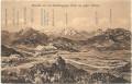 Salzburg: Gruß von der Gaisbergspitze 1908 mit K.K. Postablage Gaisbergspitze echt gelaufen nach Sarajevo