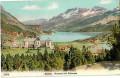 Schweiz: Gruß aus Maloja ( Graubünden ) 1906 Kursaal mit Silsersee