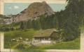 Steiermark: Gruß aus der Gsollalpe Frauenmauerhöhle 1912 Eisenerz mit Tieren