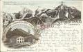 Tirol: Gruß aus St Gertraud im Suldenthal Stempel Tirol Litho 1897 Hotel Ortler ( Correspondenz Tittel Komponist ) 2