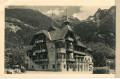 Tirol: Gruß aus Oetz in Tirol Hotel zur Post 1949 mit Sonderstempel nach Wien
