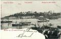 Türkei: Gruß aus Constantinople 1901 Pointe du Serail,Mosquee de Sophie n. Wien