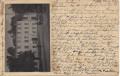 Gruß aus Aussig ( Böhmen ) Werbekarte vorne m Fotographie von Restauration 1927