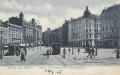 Gruß aus Brünn ( Böhmen ) 1906 Großer Platz gegen die Ferdinandgasse
