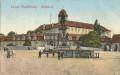 Gruß aus Lazne Podebrady Namesti 1913 Schloss, Brunnen usw.. Irrläufer