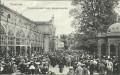 Gruß aus Marienbad 1910 Morgenkonzert beim Kreuzbrunnen nach Österreich