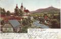 Gruß aus Nussstein bei Haindorf ( Nusstein ) ( Böhmen ) 1903