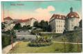 Gruß von Schloss Petschau 1911 von Petschau nach Wien gelaufen