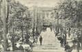 Gruß aus Prag Praha 1916 Lokal Schützeninsel Militärkonzert Gäste, Kellner usw