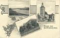 Gruß aus Stannern in Mähren 1912 ( Karte mit 3 herrlichen Ansichten )