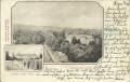 Ungarn: Gruß aus Högyesz 1903 A kastely eszaki oldala, Apponvi grof kastelya