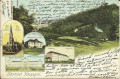 Ungarn: Gruß aus Köszegröl Litho 1907 mit Kaserne, Tempel, Militär Schule