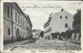 Ungarn: Gruß aus Pozega Alagoviceva ulica 1918 herrliche Strassen Ansicht