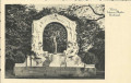 Wien I. Bezirk: Gruß vom Johann Strauss Denkmal mit Wien Tag der Briefmarke 1941
