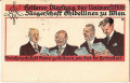 Wien IX. Bezirk: Universitäts Sängerschaft ( Studentika ) 1922 / spät verwendet