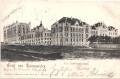 Wien XIV: Gruß aus Baumgarten K.k. Landwehrkaserne 1903 ( Ansicht )