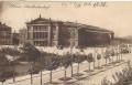 Wien X: Gruß vom Südbahnhof Wien 1911 mit Strassenbahn, Fuhrwerken usw