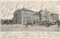 Wien XX: Gruß vom Bahnhof der k.k. priv. österr. Nordwestbahn 1906 Strassenbahn