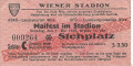 Wien II: 1. Mai 1949 SPÖ Maifest im Stadion Original Eintrittskarte Wien Sozialisten