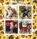 De Cote d´ivoire 2003:  AC / DC Block mit Sonderstempel,