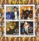 Benin 2003:  Bee Gees  Block  mit Sonderstempel