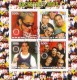 Benin 2003:  Backstreet Boys  mit Sonderstempel,