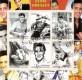 Republique du Benin 2003:  Elvis Presley  mit  Sonderstempel,