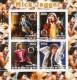 Benin 2003:  Rolling Stones Block mit Sonderstempel,