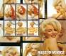 Cote d´ivoire 2003:  Marilyn Monroe  Riesen Block  gestempelt,