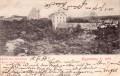 Eggenburg, NÖ.  1899,  Blick ins Karlsthal,  Turn und Spielplatz