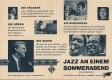 Jazz an einem Sommerabend ( UFA ) Louis Armstrong, Mahalia Jackson ( Einladung Film Casino )
